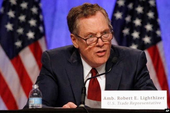 美國貿易代表萊特希澤