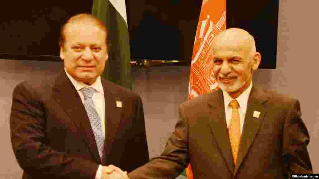 وزیراعظم نواز شریف اور افغان صدراشرف غنی کی ملاقات میں دہشت گردی و انتہا پسندی سے نمٹنے کے امور پر بھی تبادلہ خیال کیا گیا۔