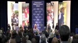 2014-03-05 美國之音視頻新聞: 美國表彰無畏婦女