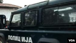 Macedonia Police Car