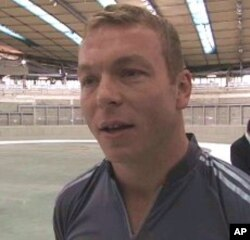British cyclist Chris Hoy