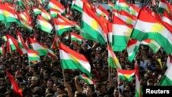 Курди висловлюють підтримку референдуму про незалежність Курдистану