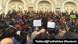 تظاهرات ضد دولتی ۲۰ دی ۱۳۹۶