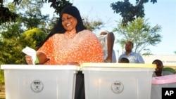 Mtazamo jinsi kura zuitakavyopigwa katika zoezi lililoandaliwa na IEBC na kuhaminiwa na UNDP.