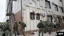 Солдаты ОМОНА в Чечне (архивное фото)