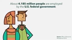 Koliko ljudi zapošljava Vlada Sjedinjenih Američkih Država?