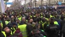 Fransada Sarı Yelekler eylemlerinde 7. hafta: Göstericilerin sayısı azaldı
