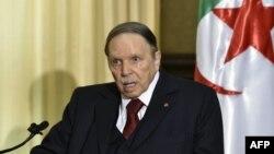 압델 라지즈 부테플리카 알제리 대통령.