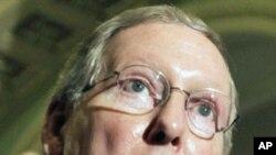 参议院共和党领袖麦康奈尔抨击奥巴马对待恐怖嫌疑人的做法
