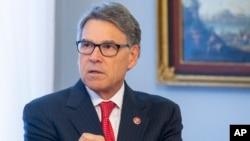 Secretario de Energía de Estados Unidos, Rick Perry. AP.