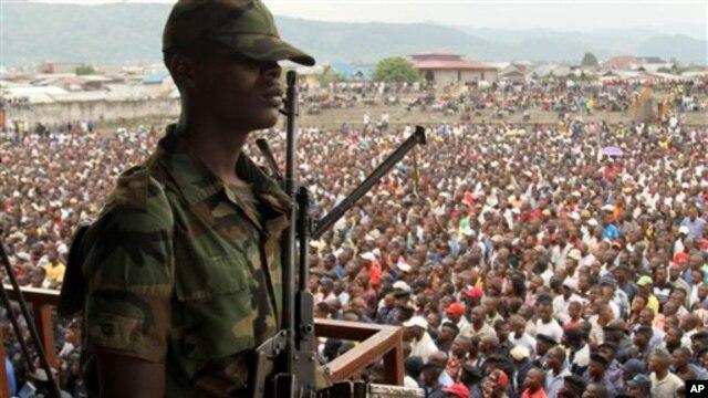 Kelompok pemberontak M23 meyakinkan warga dan penduduk di Goma, Kongo Timur agar tetap tenang - bahwa mereka ada di sana untuk melindungi mereka dan semua bisnis harus berjalan seperti biasa (Foto: dok).