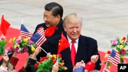 ကန္သမၼတ Trump နဲ႔ တရုတ္သမၼတXi Jinping