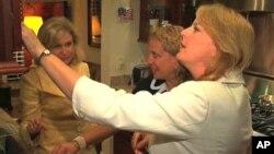 Congresswomen Carolyn Maloney, Melissa Bean and Debbie Wasserman Schultz, all Democrats, share a house in a neighborhood near the US Capitol