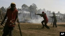 케냐 부족간 전투(자료사진)
