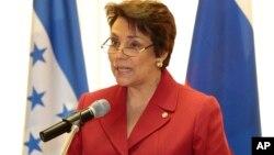 La canciller de Honduras, Mireya Agüero de Corrales, se reunirá con congresistas y funcionarios del gobierno estadounidense.