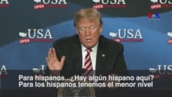 Trump destaca empleos hispanos