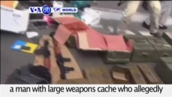 VOA60 World PM - Ukraine Arrests Frenchman for Plotting Attacks on Euro 2016