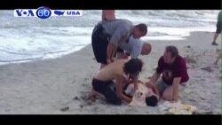 Hai thiếu niên mất cánh tay sau khi bị cá mập tấn công (VOA60)