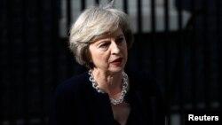 테레사 메이 영국 총리. (자료사진)