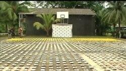 2013-04-21 美國之音視頻新聞: 哥倫比亞破獲三噸重海洛英