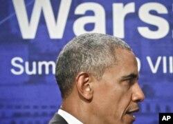 Barack Obama na Cimeira da NATO