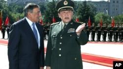 Amerika Mudofaa vaziri Leon Panetta, Xitoy Mudofaa vaziri Lian Guanli