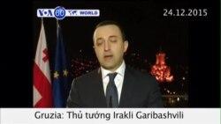 Thủ tướng Gruzia đột ngột từ chức (VOA60)
