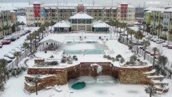 Diaspora Indonesia Terdampak Badai Salju di Texas