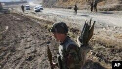 Солдат афганской армии