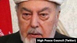 افغانستان کی اعلیٰ امن کونسل کے سربراہ پیر سید احمد گیلانی