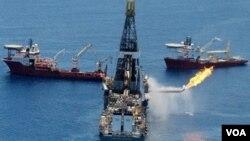 El pozo que BP se propone perforar ahora está a más de 1.800 metros de profundidad.