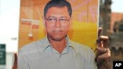 بھارتی صحافیوں کا ساتھی کے قتل کے خلاف احتجاج