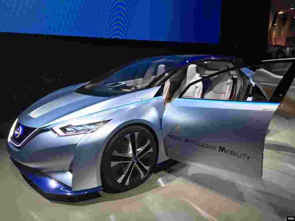 نمایشگاه محصولات الکترونیکی CES خودروی نسل آینده؛ خودروی هوشمند نیسان