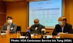 香港民意研究所1月19日公布最新民意调查显示,针对市民对自由,繁荣,安定,法治及民主5项社会核心指标的评分全线下降,处于历史低位(美国之音/汤惠芸)