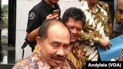 Kepala Pusat Pelaporan dan Analisis Transaksi Keuangan Kiagus Ahmad Badaruddin di kantor PPATK Jakarta, Selasa 29 Agustus 2017. (Foto: VOA/Andylala)