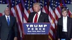 Amerika'nın 45. Başkanı Donald Trump