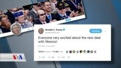 Trump bi Rêketina ligel Meksîko Dilgeş E