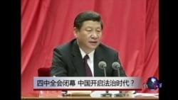时事大家谈:四中全会闭幕,中国开启法治时代?