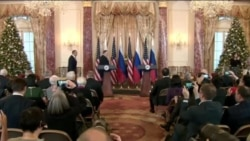 Пресс-конференция госсекретаря США Помпео и министра иностранных дел РФ Лаврова