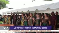 Le corps de la paix s'affirme au Togo