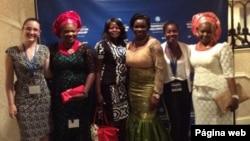 Participantes da Iniciativa Jovens Líderes Africanos, Julho 2014