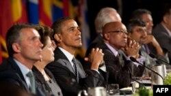 Tổng thống Hoa Kỳ Barack Obama thăm dự phiên họp thường niên của Đại hội đồng Liên Hiệp Quốc tại New York