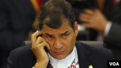 Se pidió al presidente Rafael Correa respetar la diversidad de ideas y opiniones.