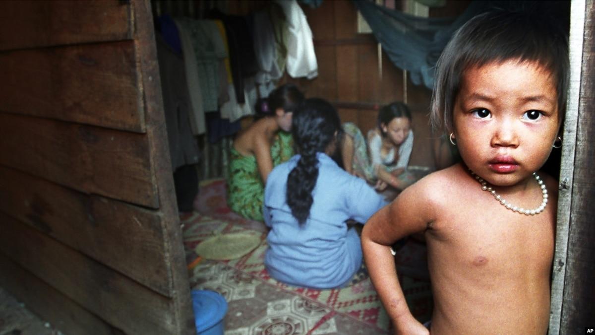 Cambodia children nude