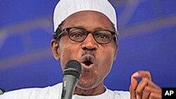 Janaral Muhammadu Buhari.