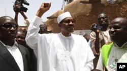Janaral Muhammed Buhari.