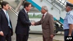 Прем'єр-міністр Дейвид Камерон у Пакистані