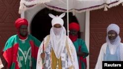 L'émir de Kano, Muhammadu Sanusi II, au palais de Kano, Nigeria, le 18 juillet 2014.