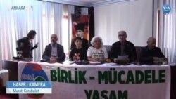 Ankara'da Ekoloji Mitinginin İptali Protesto Edildi