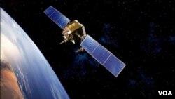 Satélite espacial de televisión